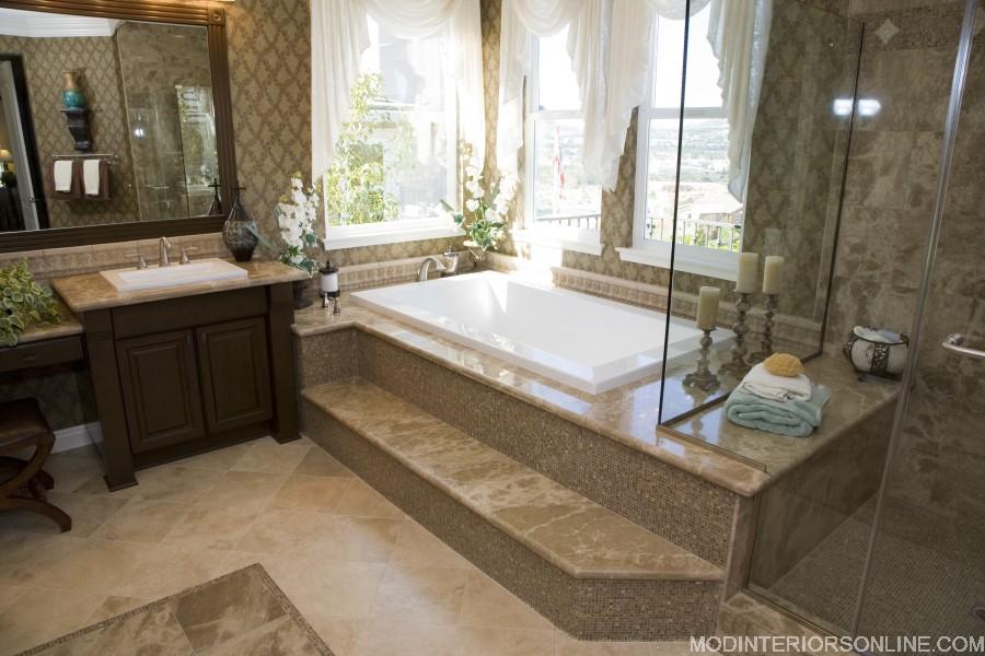 Johanson_marble_tile_glass_tub_taupe_bath_modinteriorsonline.com