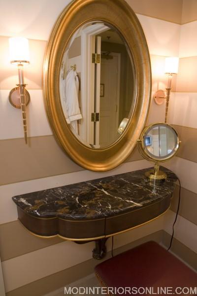 Stanton bath gold mirror vanity lights modinteriorsonline