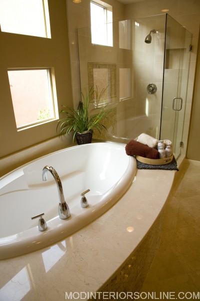 james tub shower plant tray bath_modinteriorsonline.com