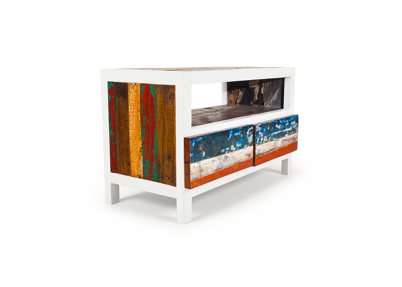 Funky Finds Friday Colleyville Interior Designer Console upcycle