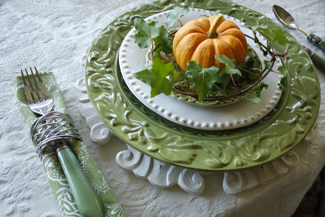 Thanksgiving Table Setting Grapevine Interior Designer