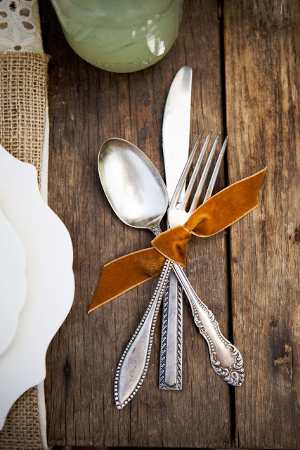 Silverware Fall Decoration Thanksgiving Grapevine Interior Designer