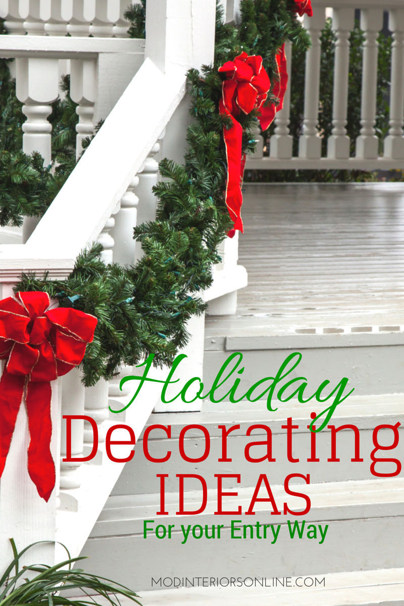 holiday decorating ideas christmas decorating ideas - Entryway Christmas Decorations