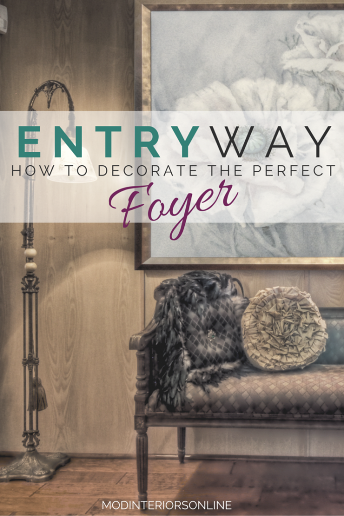 Foyer Decor Work : Entryway design how to decorate the perfect foyer mod