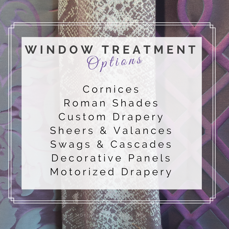 window treatment Services Colleyville; custom design window treatments; window treatments Dallas; custom window treatments Grapevine; valances; panels; cornices; curtains; shades; drapes; swags, Roman shades;