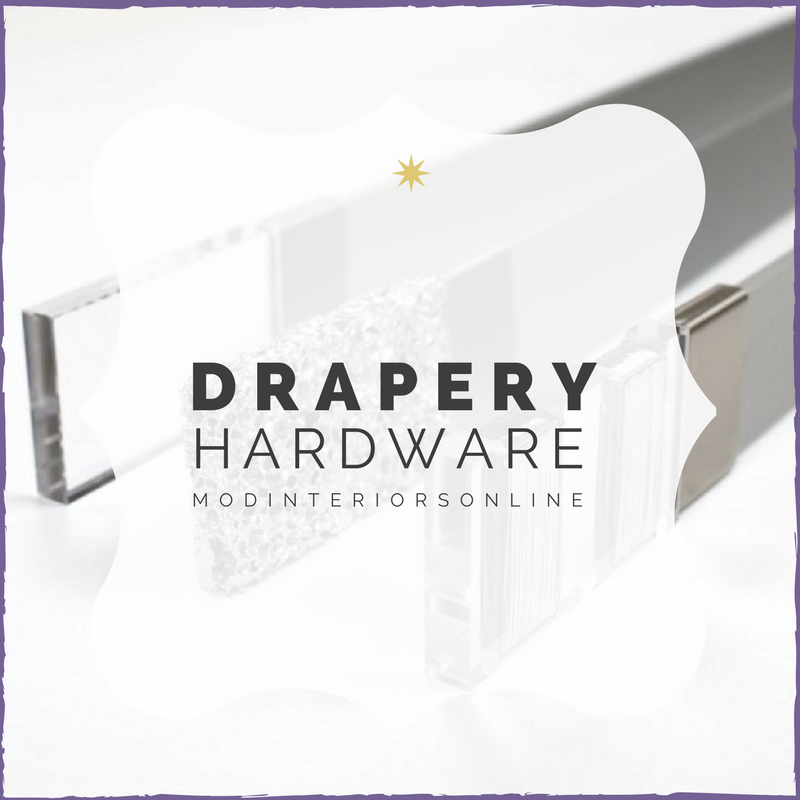 custom drapery hardware