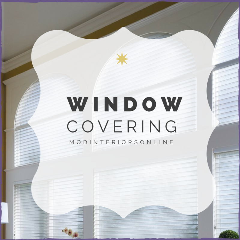 Window covering Blinds and Treatments