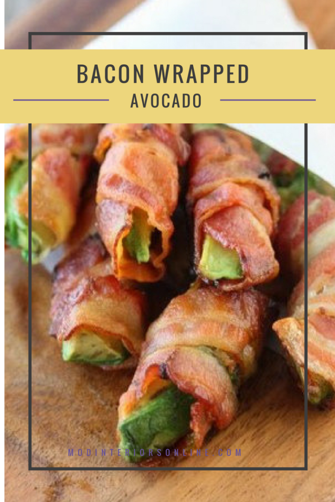 Bacon-Wrapped Avocado recipe