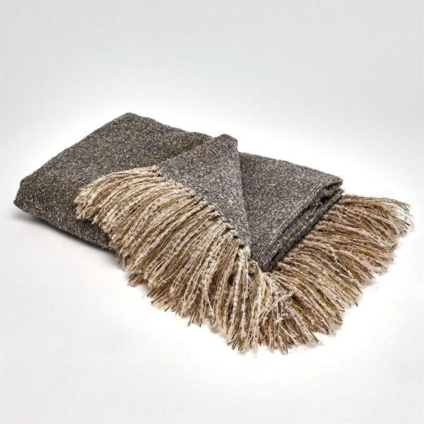 Throw, Throw Blanket, luxurious, Alpaca Wool, Grey