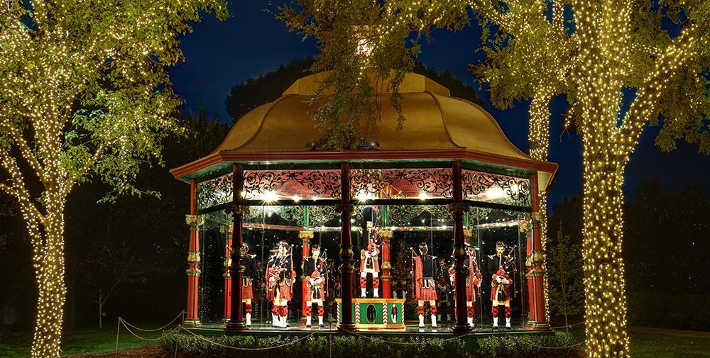Christmas Event At Dallas Arboretum
