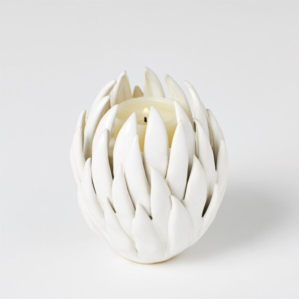 Ceramic, Votive ,T-LITE HOLDER, White
