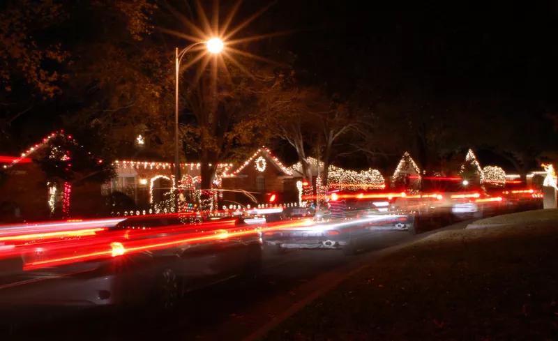 Christmas Lights at Interlochen
