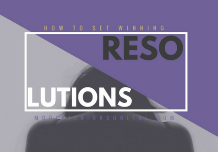 New Years Resolutions, How to set Einning Goals Blog Preview Pic